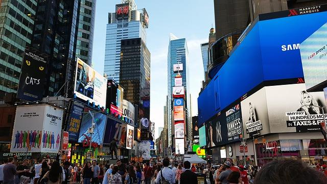 the time square